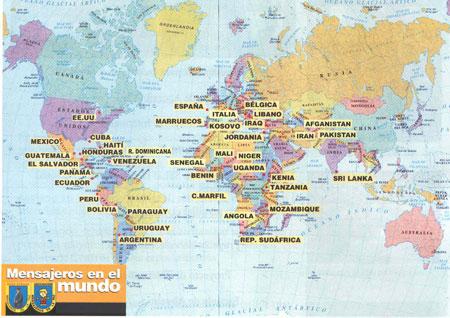 Mapa mundi y sus paises - Imagui